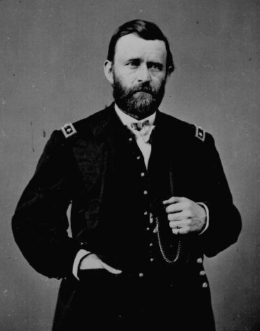Генерал армии Севера и Улисс Грант. Впоследствии был избран  президентом США. Фото: historyplace.com