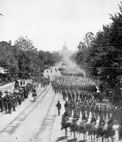Image result for gif, US civil war victory parade