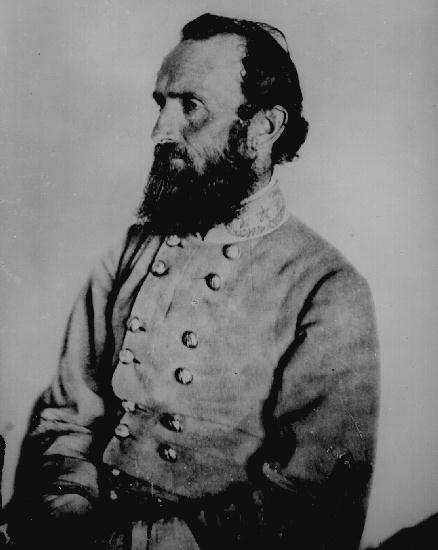 Maj. Gen. Thomas J. Jackson (also known as Stonewall Jackson) was a famous Confederate commander.                 http://www.historyplace.com/lincoln/lincpix/stonewall.jpg