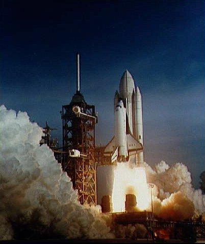 the space shuttle program began when the flue on april 12 1981 - photo #39
