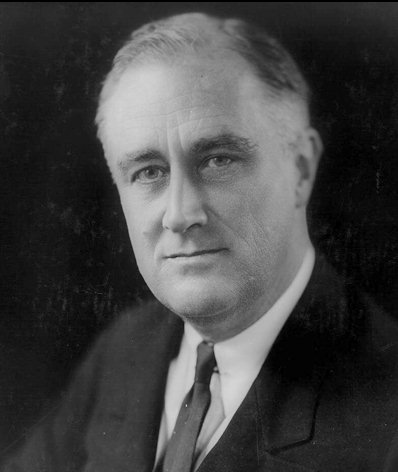 President Franklin D. Roosevelt, Photo from Google Images