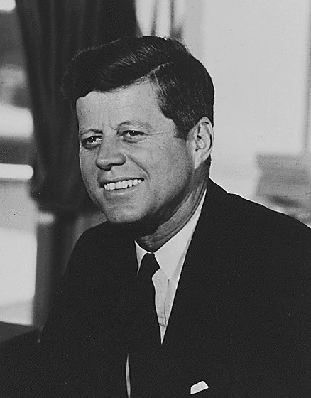 President John F. Kennedy, Photo from Gogle Images
