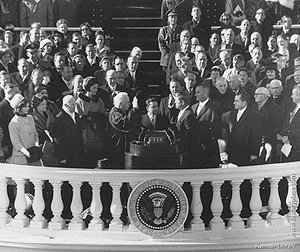 franklin d roosevelt and john f kennedys inaugural speeches essay The american presidency project contains the most comprehensive collection of resources pertaining to the study of the president of the united states compiled by john woolley and gerhard peters.