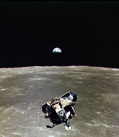 astronauts jumping on the moon - photo #24