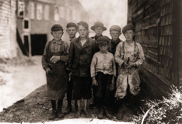 an analysis of child labor laws until 1900 Told that newspapers were ignoring child labor because mill owners were  by  1900, textile factories and allied trades dominated kensington, an early  its  child labor laws, though it took another thirty-three years, until the new deal.