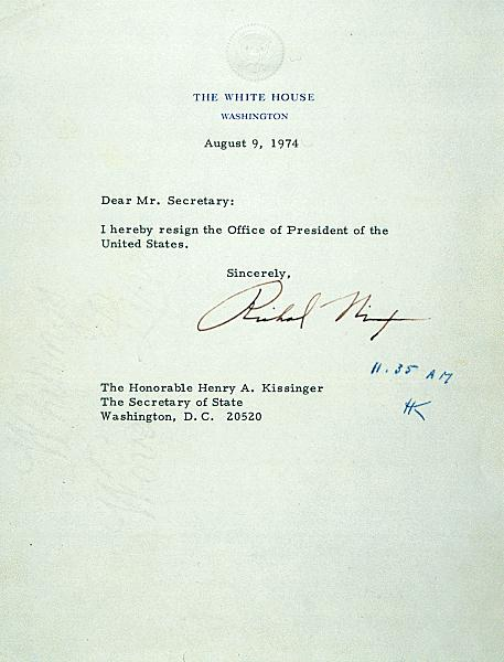 Impeachment Of Nixon On Friday  August 9  Nixon