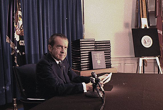 Image result for the release of the nixon tapes in 1974