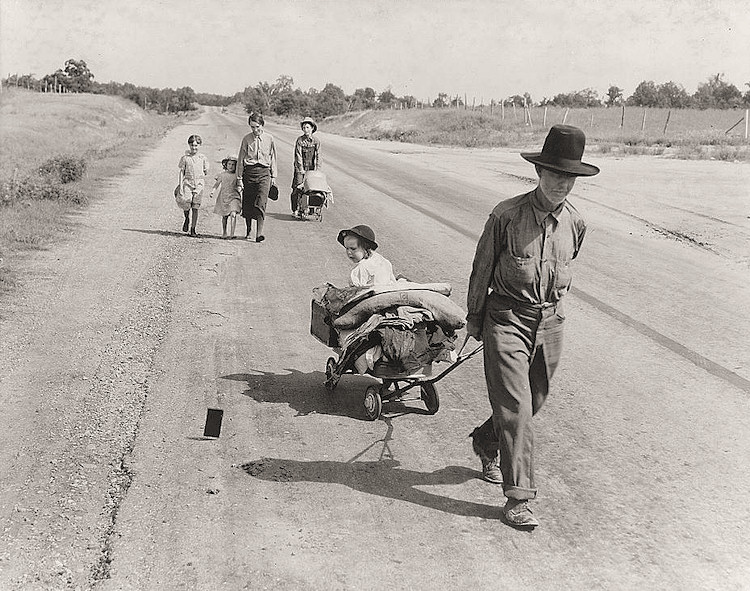 Image result for Dorothea Lange photographed the destitute