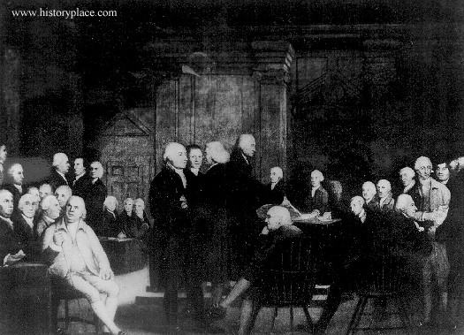 The History Place - American Revolution: Conflict and Revolution 1775-