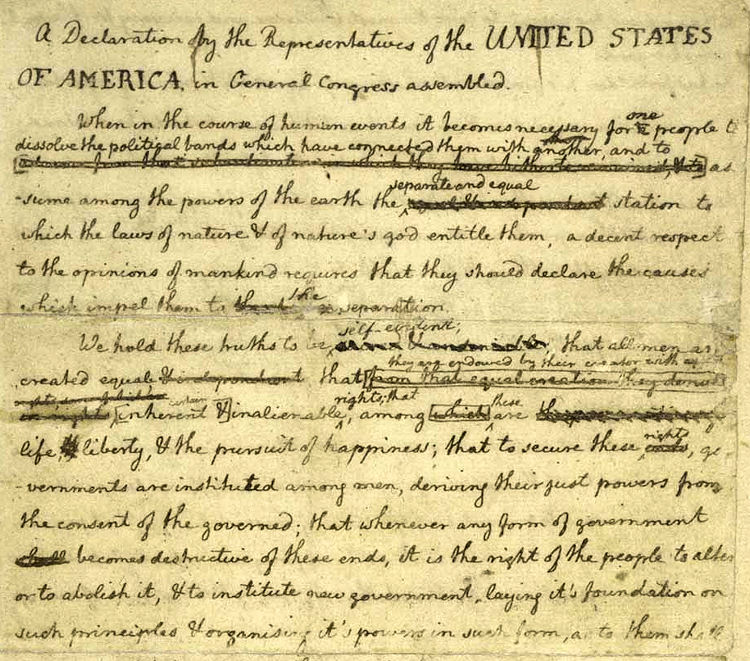 The History Place - American Revolution: Declaration of Independence