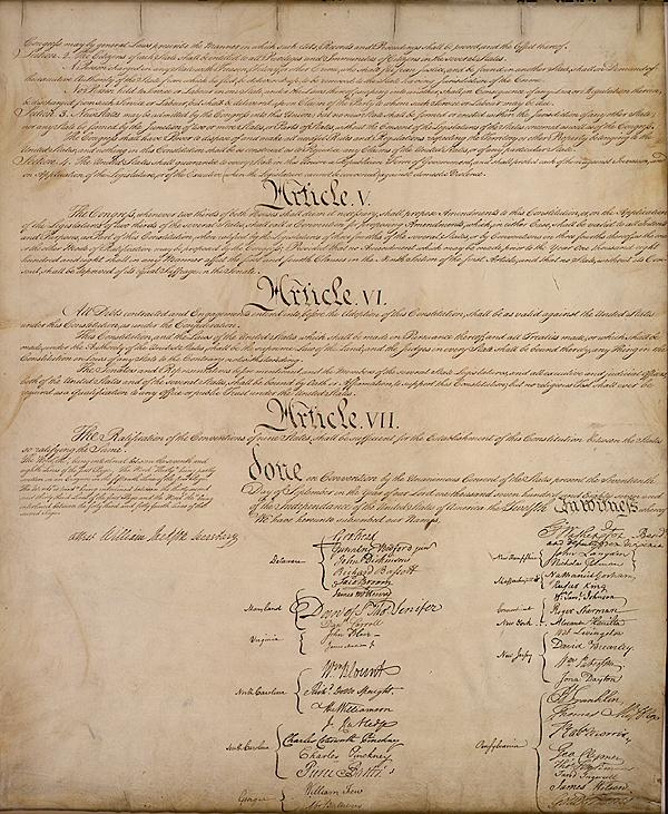 United States Constitution Essay