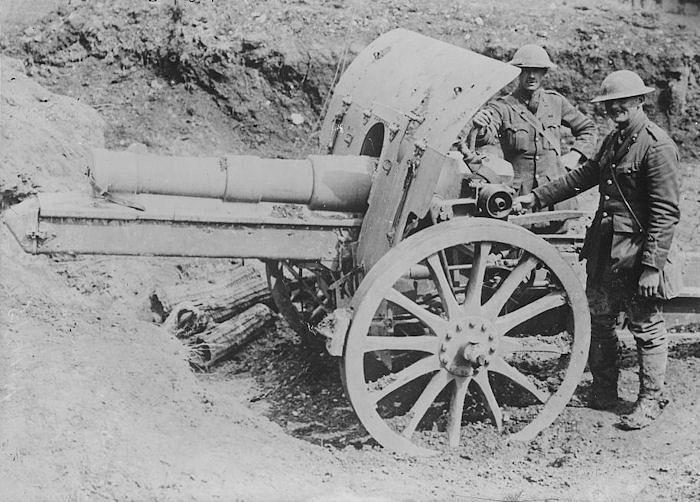 world war 1 guns. Return to World War I Timeline
