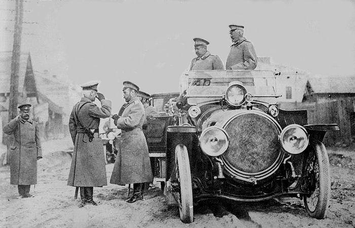 the history place world war i timeline 1915 czar nicholas at