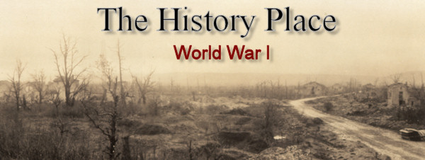 The History Place - World War I Timeline - 1918 - A Fateful Ending