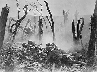 The History Place - World War I Timeline - 1918 - Americans