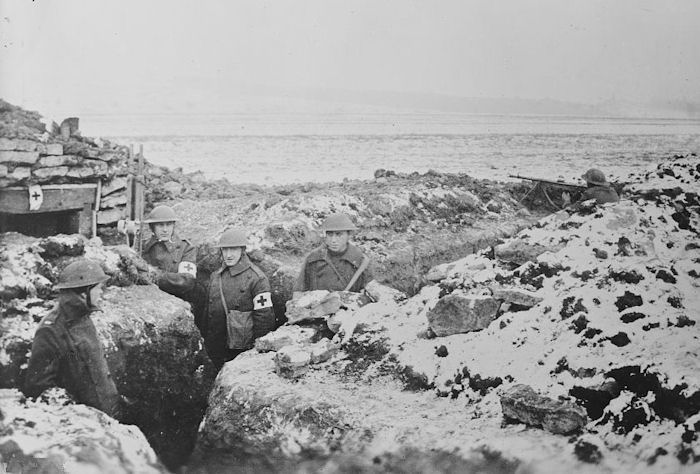 an overview of the historic trench warfare in war tactics During world war i, the western front in france was fought using trench warfare by the end of 1914, both sides had built a series of trenches that went from the north sea and through belgium and france.
