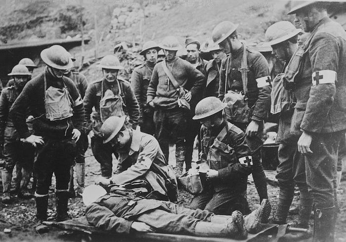 wwi injuries from battle contains some very graphic photos