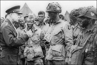D Day Invasion Paratroopers of the D-Day invasion