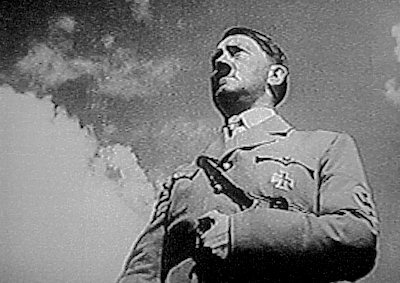 "an analysis of hitlers propaganda in the movie the triumph of will The influences of star wars: triumph of the to nazi propaganda people think of when you say words ""hitler"" or ""nazi"" probably come from this movie."