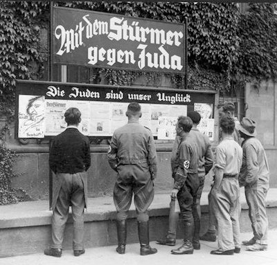 jewish history nazi policy against jews Analysis of nazi propaganda  the nazi propaganda against jews  particularly in combination with the nazi portrayal of the non-jewish,.